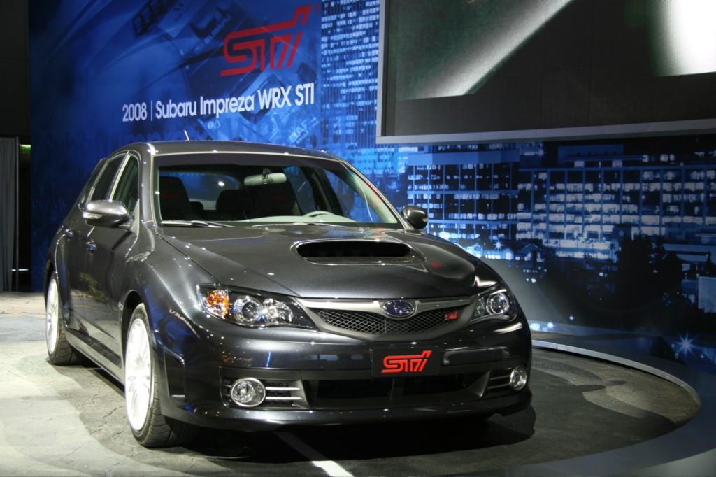 Subaru impreza WRX STI 10
